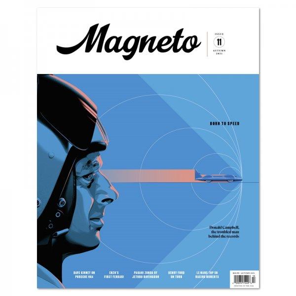 Magneto – Issue 11 – Autumn 2021 – Cover