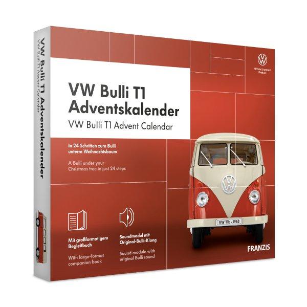VW Bulli T1 Adventskalender Franzis 1:43