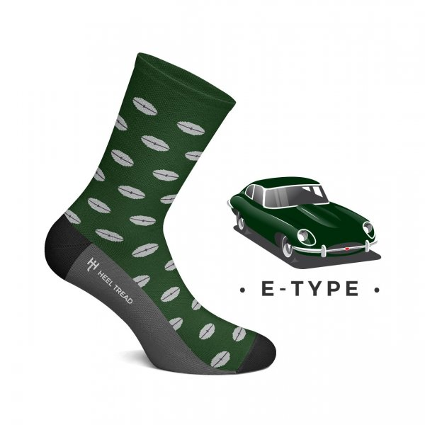 Heel Tread Socken – E-Type