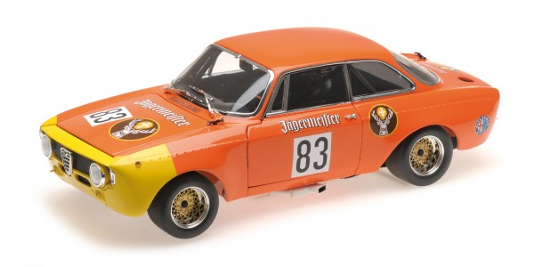 Alfa Romeo GTA 1300 Junior Rainer Maschke Wunstorf 1972 Minichamps 1:18