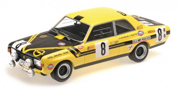 Opel Commodore A Steinmetz Pilette/Gosselin 24h Spa 1970 Minichamps 1:18