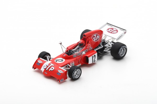 March 721X Niki Lauda Belgian GP 1972 Spark 1:43