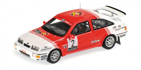 Ford Sierra RS Cosworth Droogmans/Joosten Lotto Haspengouw Rally 1987 Minichamps 1:43