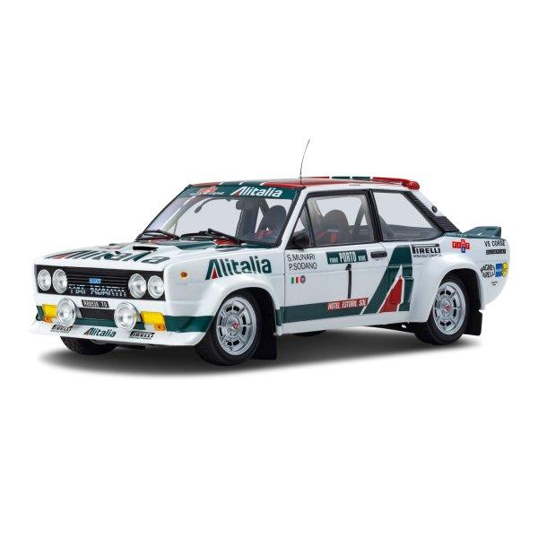 Fiat 131 Abarth Munari/Sodano Rally Portugal 1978 Kyosho 1:18