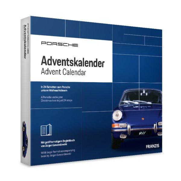 Porsche 911 Adventskalender Baliblau Franzis 1:43