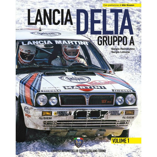 Lancia Delta Group A – Vol. 1 – Cover