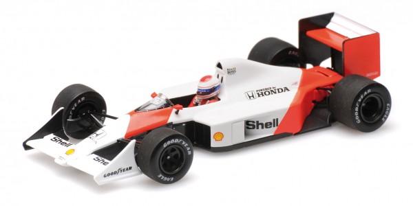 McLaren MP4/4B Emanuele Pirro F1 1988 Testing Minichamps 1:43