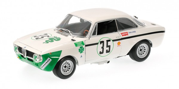 Alfa Romeo GTA 1300 Junior Colzani/'Pooky'/Venturi 4h Jarama 1972 Minichamps 1:18