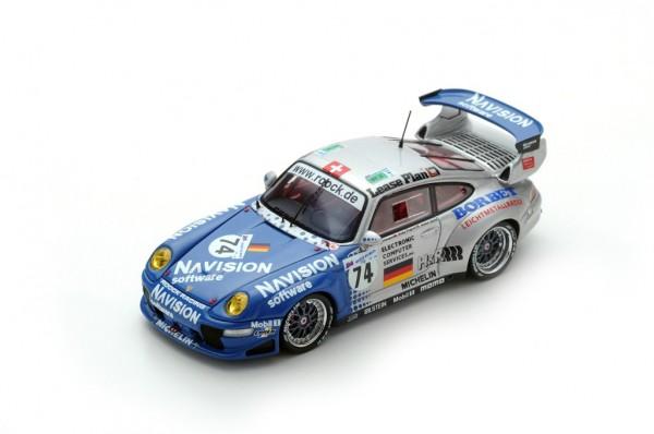 Porsche 911 GT2 Ahrle/Eichmann/Pilgrim 24h Le Mans 1997 Spark 1:43