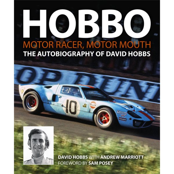 Hobbo – Motor Racer, Motor Mouth – The Autobiography of David Hobbs – Cover