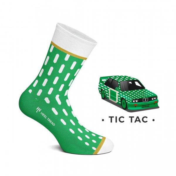 Heel Tread Socken – Tic Tac