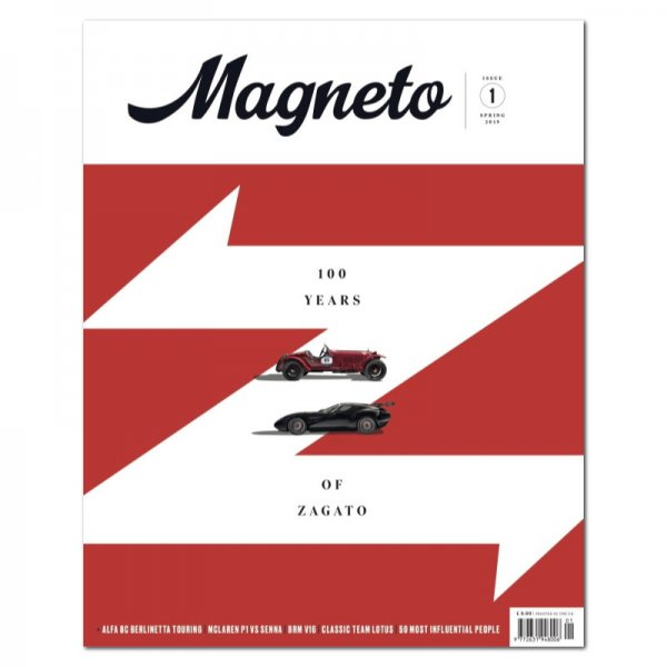 Magneto – Issue 1 – Spring 2019 – Cover