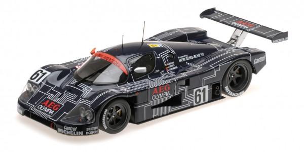 Sauber-Mercedes C9 – Mass/Weaver/Baldi – Le Mans 24h 1988