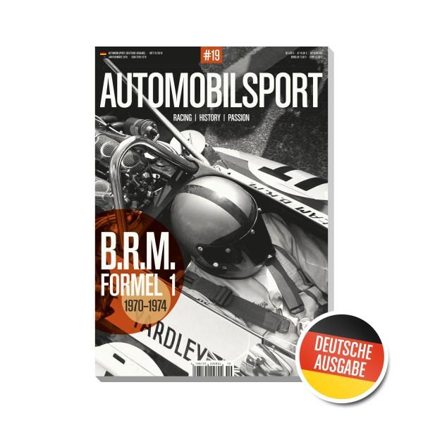 AUTOMOBILSPORT #19 (01/2019) – Deutsche Ausgabe