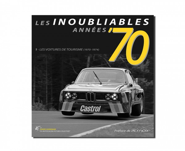 Les Inoubliables Années '70 – Touring cars 1970–1974 – Signed edition
