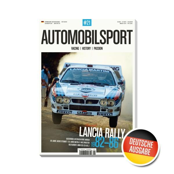 AUTOMOBILSPORT #21 (03/2019) – Deutsche Ausgabe