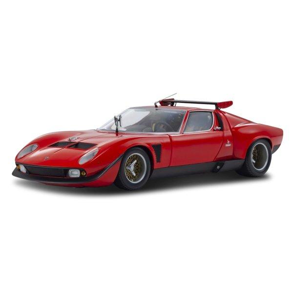 Lamborghini Miura SVR Red/Black Kyosho 1:18
