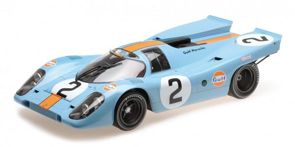 Porsche 917K Rodriguez/Kinnunen/Redman 24h Daytona 1970 Minichamps 1:12