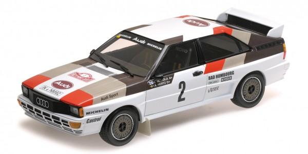 Audi Quattro Mikkola/Hertz Rallye Monte Carlo 1983 Minichamps 1:18