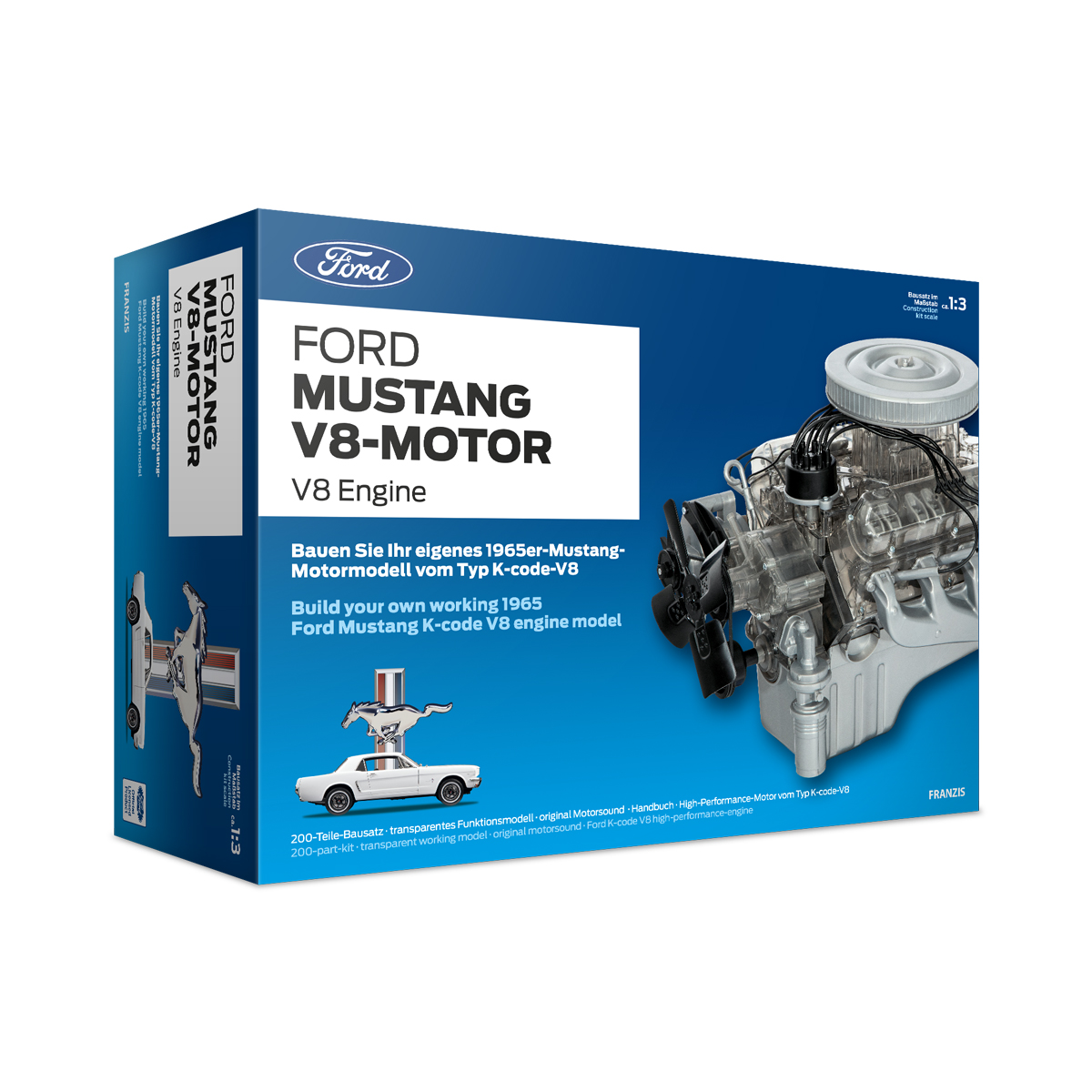 Ford Mustang V8 Engine – 1965 – kit