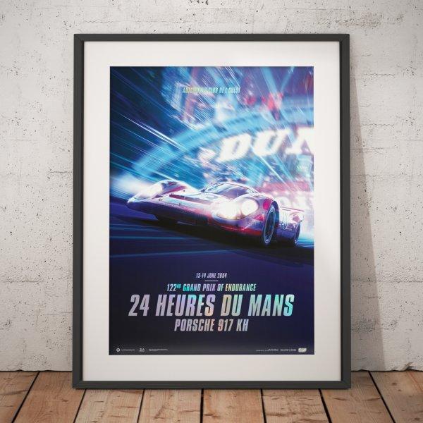 Porsche 917 KH – Future – 24h Le Mans – 2054 – Poster | Collector's Edition