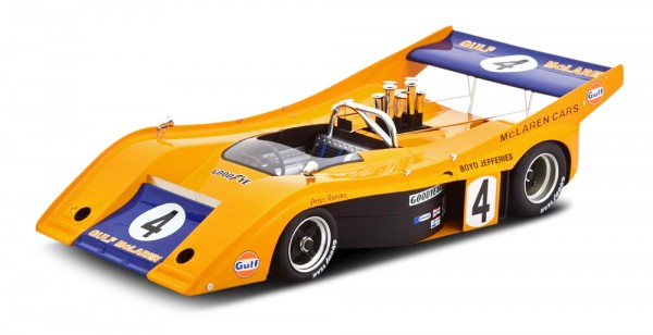 McLaren M20 Peter Revson CanAm Road America 1972 Technomodel 1:18