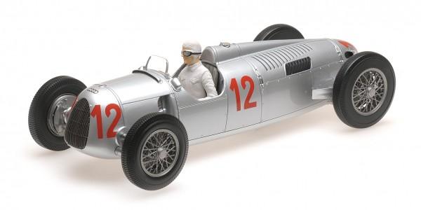 Auto Union Typ C Stuck/von Delius Hungarian GP 1936 Minichamps 1:18